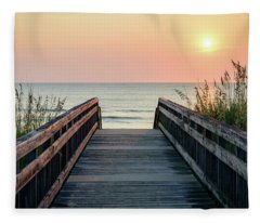 Beyond The Sea Fleece Blanket