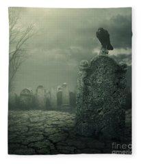 Tombstone Fleece Blanket