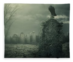 Tombstone Fleece Blanket