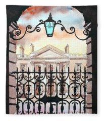 Trinity College, Dublin Fleece Blanket