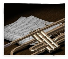 Trumpet Fleece Blanket