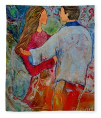 Trusting You Fleece Blanket