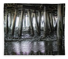 Under The Pier 2 Fleece Blanket