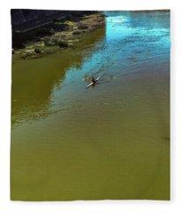 Up Stream Fleece Blanket