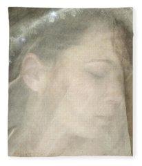 Veiled Princess Fleece Blanket