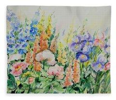 Watercolor Series 194 Fleece Blanket