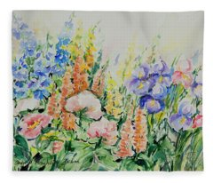 Watercolor Series 194 Fleece Blanket