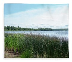 Wetlands Fleece Blanket