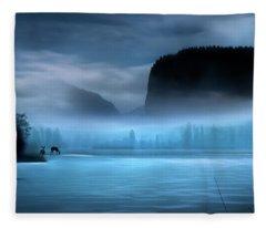 While You Were Sleeping Fleece Blanket