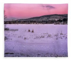 Winter Meadows Fleece Blanket