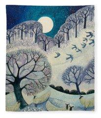 Winter Woolies Fleece Blanket