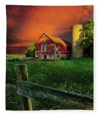 Wisconsin Life Fleece Blanket