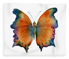 1 Wizard Butterfly Fleece Blanket