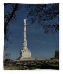 Yorktown Victory Monument Fleece Blanket