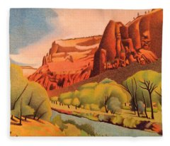 Zion Canyon Fleece Blanket