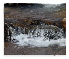 Waterfall Westcliffe Co Fleece Blanket