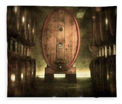 100 Hl - Italian Red Wine Fleece Blanket