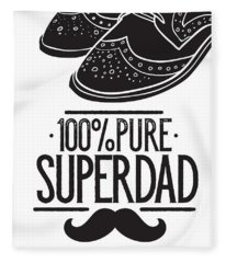 100 Percent Pure Super Dad Fleece Blanket