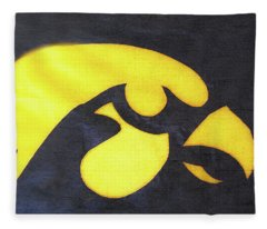 10724  Iowa Hawkeye Fleece Blanket