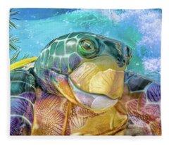 10730 Mr Tortoise Fleece Blanket