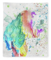 10787 Beast Fleece Blanket