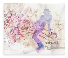 10849 All That Jazz Fleece Blanket