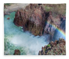 10883 Rainbow Over Owyhee Fleece Blanket