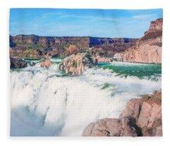 10917 Shoshone Falls Fleece Blanket