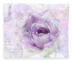 10947 Tulip Fleece Blanket