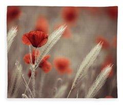 Bloom Fleece Blankets