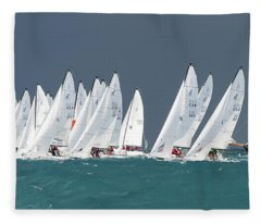 Key West Race Week Fleece Blanket