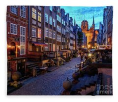 Gdansk, Poland Fleece Blanket
