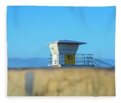 13 Above The Seawall Fleece Blanket