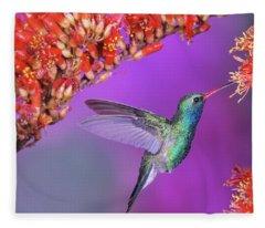 Bird Fleece Blanket