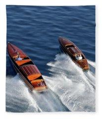Classic Speedsters Fleece Blanket