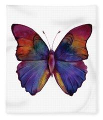 13 Narcissus Butterfly Fleece Blanket