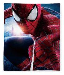 The Amazing Spider-man 2012 Fleece Blanket
