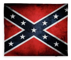 Confederate Flag 13 Fleece Blanket