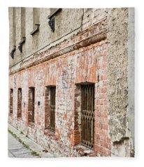 Derelict Building Fleece Blanket