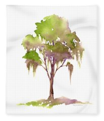 #16 Tree Fleece Blanket