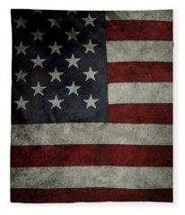 American Flag 62 Fleece Blanket