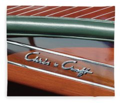 Classic Chris Craft Fleece Blanket