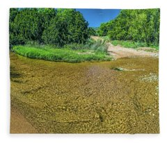 180 Of Sandy Creek At Coulee Hollow Crossing II Hdr Fleece Blanket
