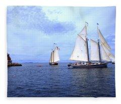 1871 Lewis R French Fleece Blanket