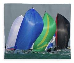 Key West Colors Fleece Blanket
