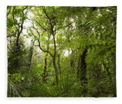 Jungle 1 Fleece Blanket