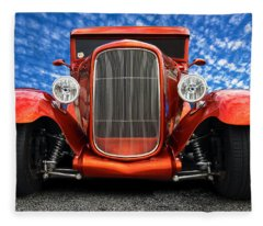 1930 Ford Street Rod Fleece Blanket