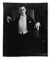 1931 Dracula Bela Lugosi Fleece Blanket