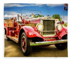 1931 Mack - Heber Valley Fire Dept. Fleece Blanket
