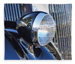 1936 Ford 2dr Sedan Fleece Blanket